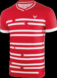 Victor Shirt Denmark Unisex red 6628 (2018), Gr. XXL