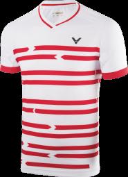 Victor Shirt Denmark Unisex white 6628 (2018), Gr. XL