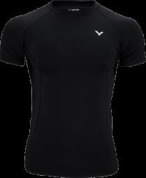 Victor Compression Shirt uni black 5708 (2018)