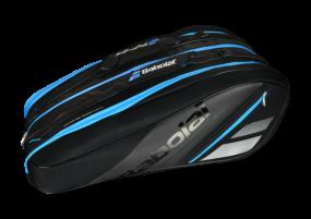 Babolat Racket Holder X12 Team Line schwarz-hellblau