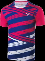 Victor Shirt Korea Unisex pink 6448 (2018), Gr. L
