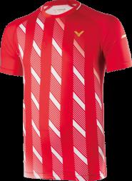 Victor Shirt Denmark Unisex red 6599, Gr. M