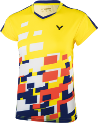 Victor Shirt Malaysia Female yellow 6418 (2018), Gr. S
