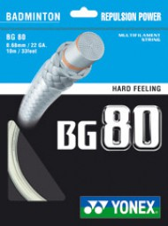 Yonex BG 80 Neubesaitung
