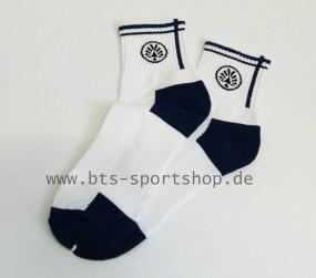 Oliver Sport Socken weiß-blau