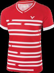 Victor Shirt Denmark Female red 6618 (2018), Gr. S