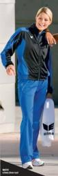 Erima Racing Line Präsentationsanzug, blau-schwarz, 40