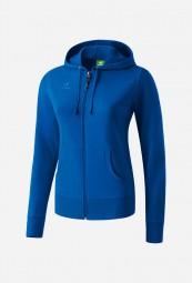 Erima-Basic Sweatjacket, blau, 40