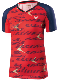 Victor Shirt International Female red 6649 (NEU 2019)