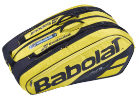 Babolat Racket Holder X12 Pure Aero gelb (NEU 2019)