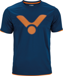 Victor T-Shirt blue 6488, Gr. L