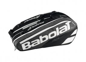 Babolat Racket Holder X9 Pure grau-schwarz-weiß