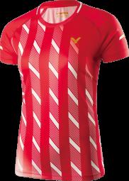 Victor Shirt Denmark Female red 6609 (2019)